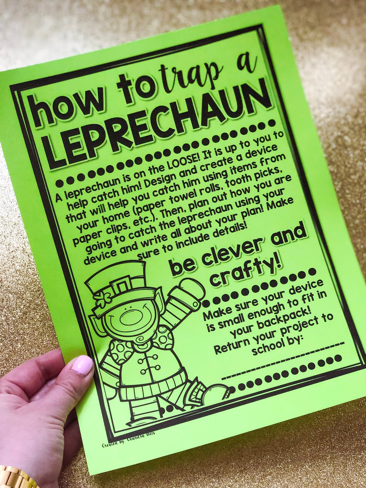 Ideas For St Patrick S Day In The Classroom Teaching With Crayons
