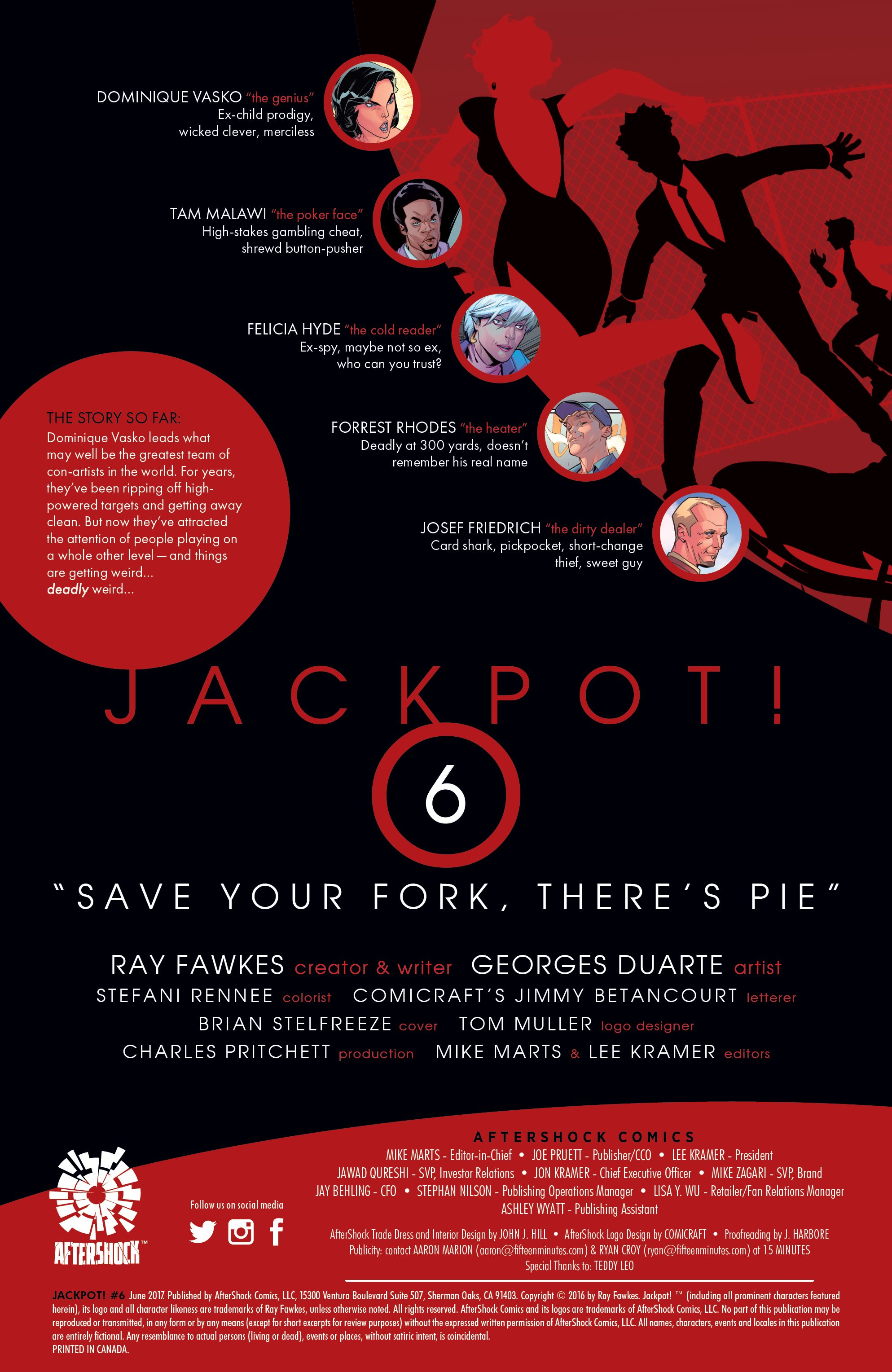 Read online Jackpot! comic -  Issue #6 - 2