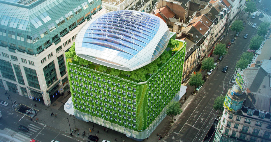 Il futuro Botanic Center Bloom di Bruxelles