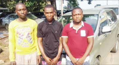 SARS arrests policeman, others for snatching magistrate's car