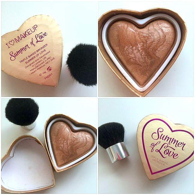 polvos bronceadores i heart make up