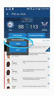 NBA APP SCREENSHOT 2