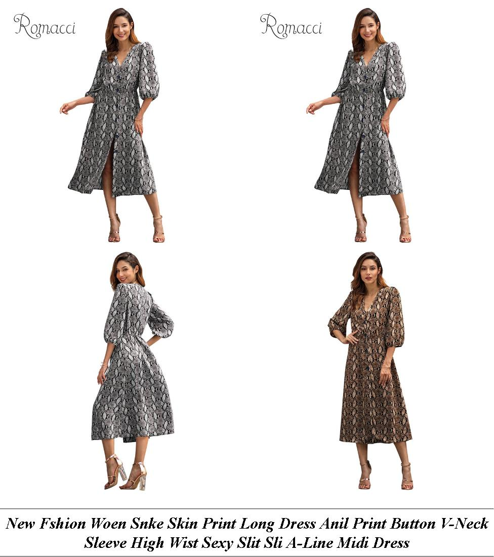Lack Dress Spring Casual - Vintage Clothes Shop Great Western Road Glasgow - Maroon Long Dress