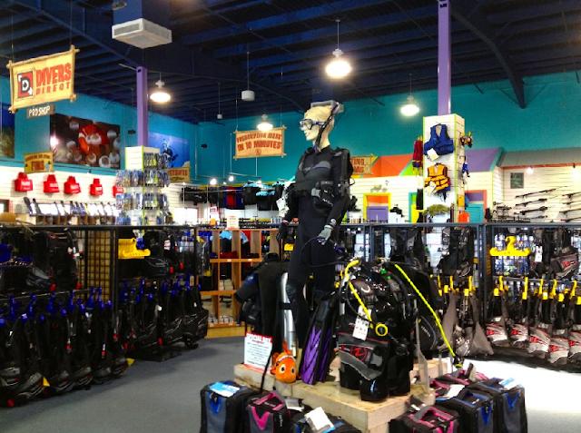 Divers Direct Outlet na International Drive em Orlando