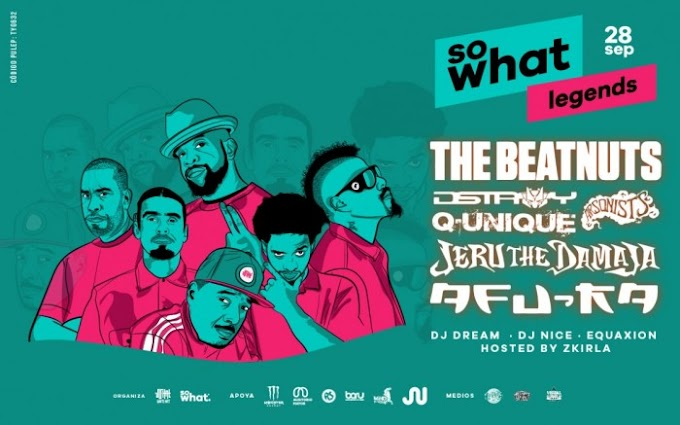 So What Legends trae a Bogota a estas leyendas del rap 28 de septiembre