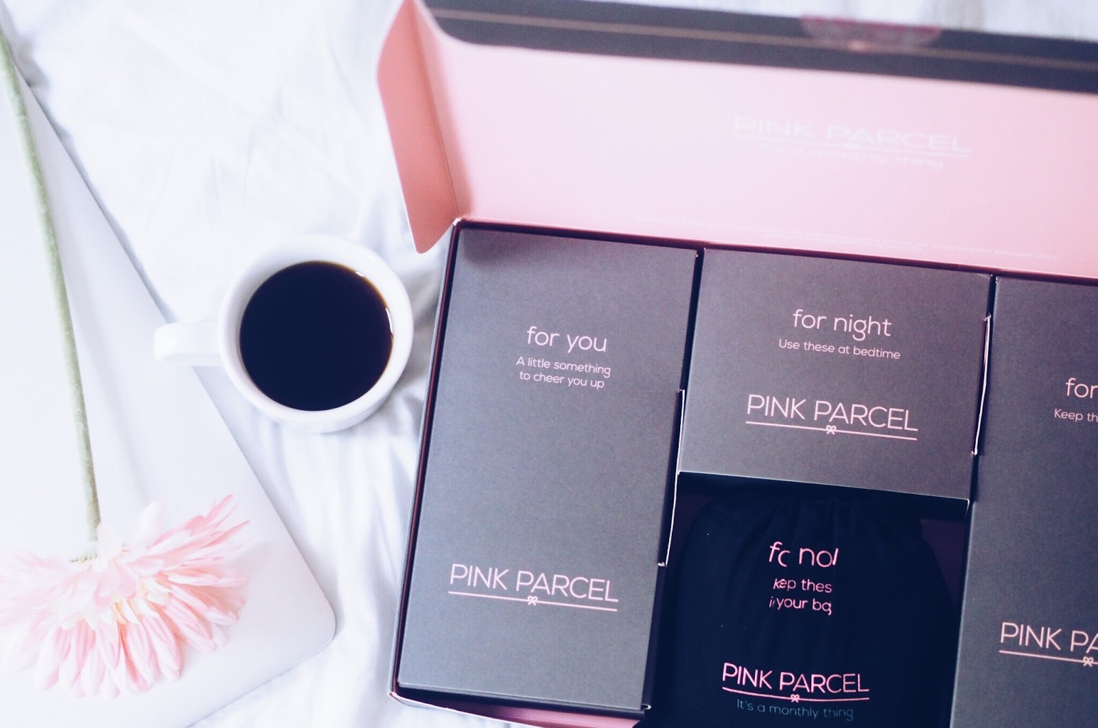 Making your period that little bit better with Pink Parcel.