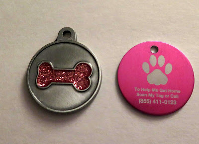 Not only are these dog tags beautiful but they provide a level of safety for your dog by including a lost pet service to help pets return home fast.