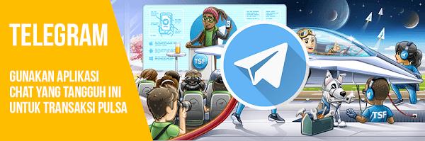 Panduan Cara Transaksi Pulsa Murah via Telegram di Server Jelita Pulsa Termurah Saat Ini