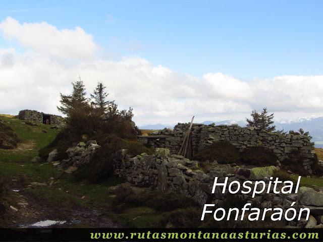 Ruínas del Hospital Fonfaraón