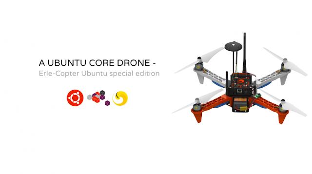 Drone com Ubuntu é o primeiro a rodar aplicativos, o primeiro do mundo!