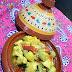 Tajine de pollo con alcachofas de Joël Robuchon