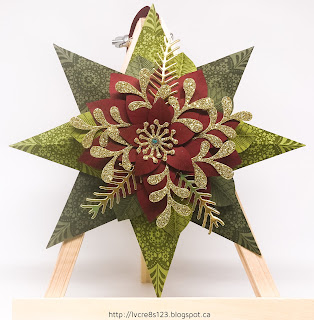 Linda Vich Creates: Christmas Decor and Gift Card Holder. Christmas decor item CASEd from Connie Collins.