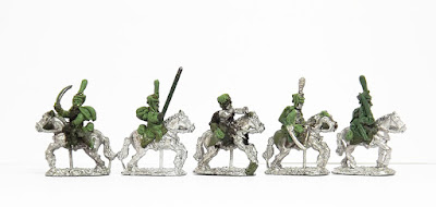 Hussars (Dutch style) x 5: