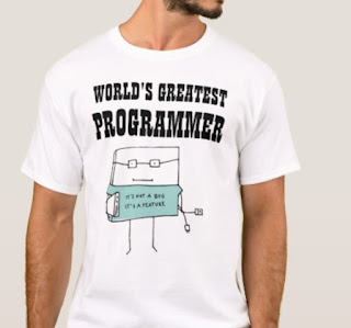 its not a bug its a feature funny programmer tshirt