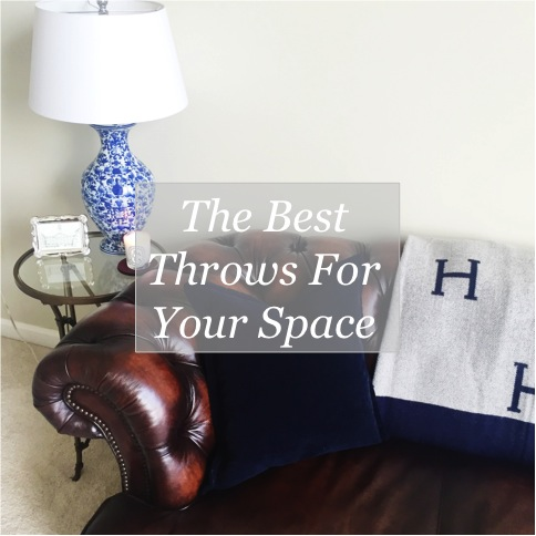 Decorating Update: Throws and Blankets for your Space