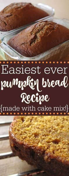 Easy Pumpkin Bread with Cake Mix #Dessertrecipes#Easydesserts#Cookierecipes#Icecream#Chocolate#Yummyfood#pie#Healthysnacks#Healthymeals#Healthyeating#Healthydessertrecipes#Healthyfoodrecipes#Nicecream #Dessertrecipes#Easydesserts#Cheesecakerecipes#Deliciousdesserts#Dessertvideos#Healthydessertrecipes#Healthyfood#Vegandessert#Healthycookies#Healthysweetsnacks#Paleodessert#Cakerecipes#Coffee#Healthydesserts#Dessertrecipeseasy#Chocolatemousserecipe#Chocolatecheesecake#Nobakecookies#Chocolatedesserts#Oreodessert#Easynobakedesserts#Peanutbutterdesserts#Nobakecheesecakerecipes#Chocolatepuddingdessert#Creamcheesedesserts#Yummydesserts#Chocolatepeanutbutterdesserts#Gooddesserts#Lushdessertrecipes #EasyPumpkinBreadwithCakeMix