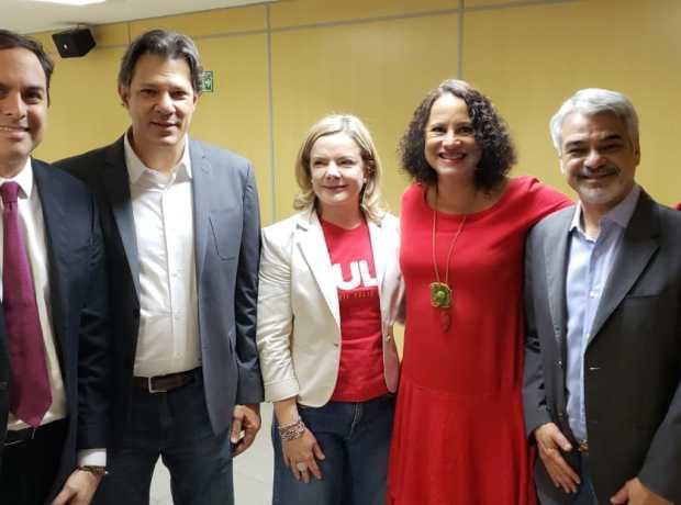 Em Brasília, Paulo Câmara defende a candidatura Lula a presidente