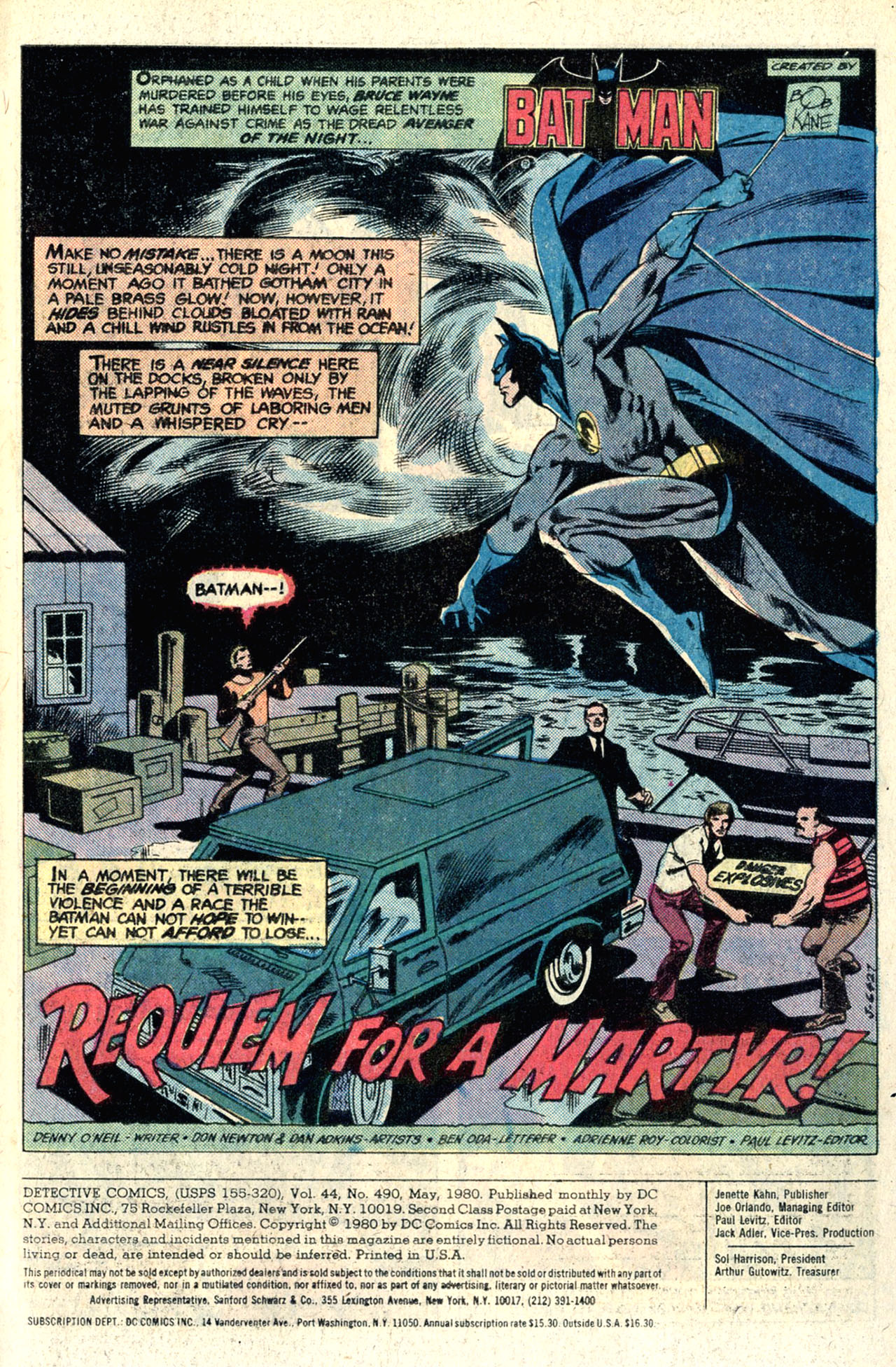 Detective Comics (1937) 490 Page 2