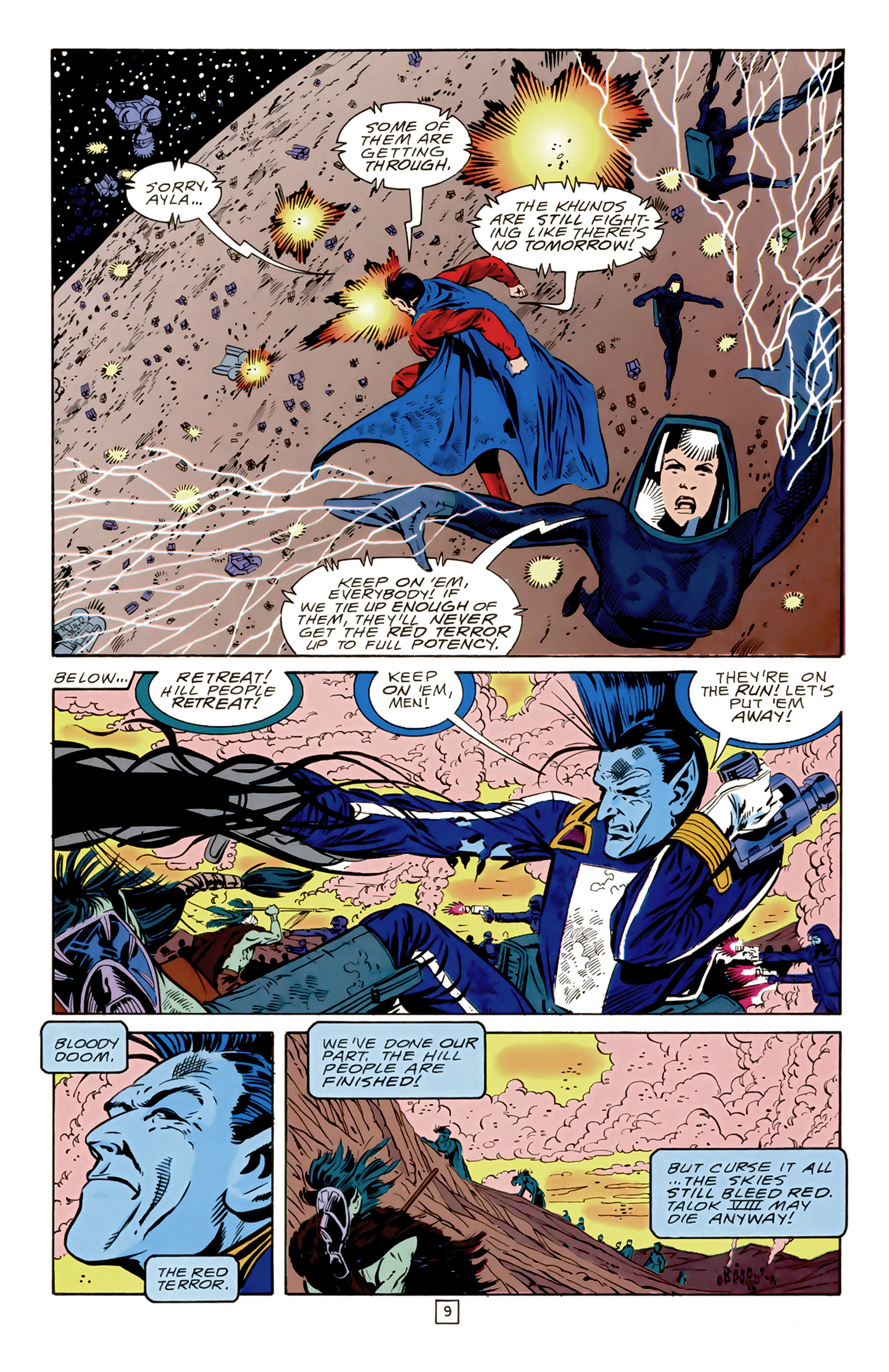 Legion of Super-Heroes (1989) 17 Page 9