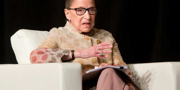 Supreme Court judge Ruth Bader Ginsburg doubles down on Donald Trump swipe