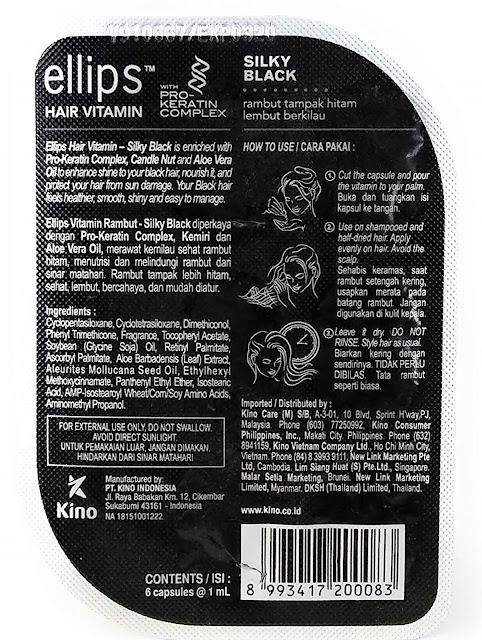 Punya Masalah dengan Rambut  Rontok dan Kusam Mungkin Produk Ellips Hair Vitamin – Silky Black Punya Solusinya