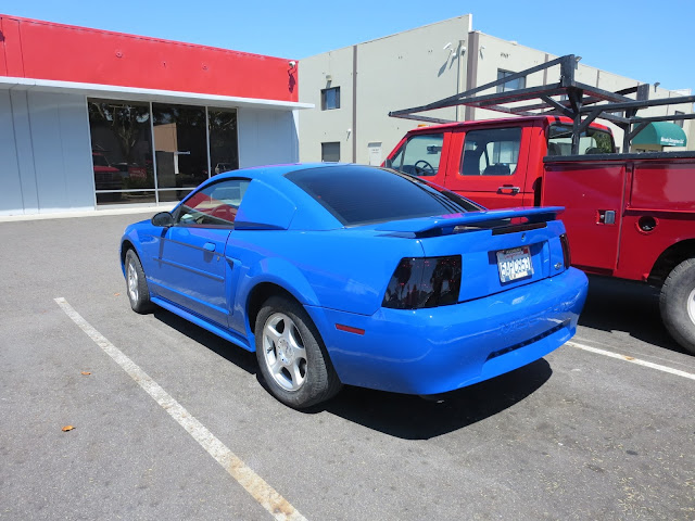 Mustang with new paint and repairs from Almost Everything Auto Body
