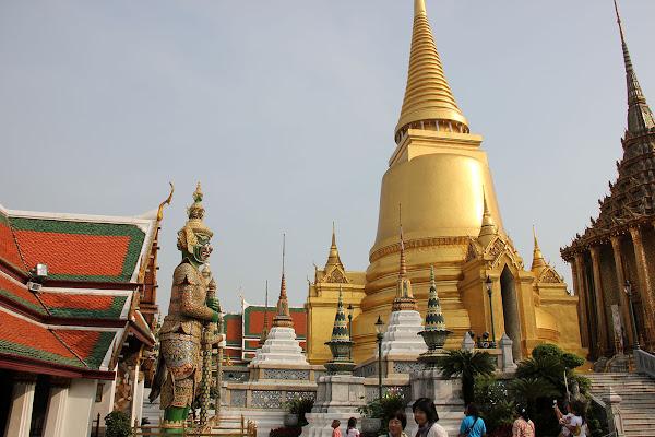 Torre dorada - Gran Palacio Real de Bangkok