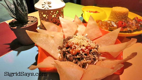 Spice Kitchen nachos
