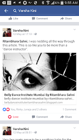 RITAMBHARA SAHNI'S BELLY DANCE INSTITUTE MUMBA