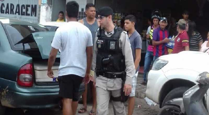 EXCLUSIVO: prefeito de Areia, do PSDB, e o filho trocam agressões com feirantes