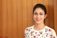 Lavanya Tripathi in Summer Style Spicy Short White Dress at her Interview  Exclusive 218.JPG