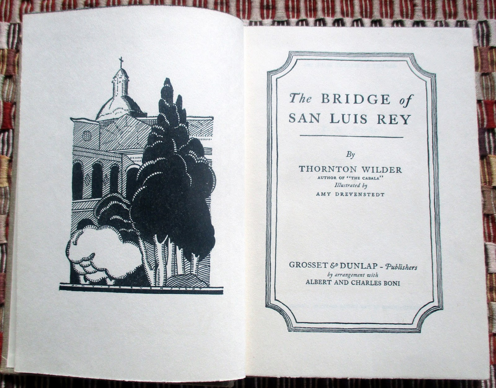 a character analysis of pepita in the novel the bridge of san luis rey by thornton wilder The the bridge of san luis rey community note includes chapter-by-chapter summary and analysis, character list, theme list, historical context, author biography and.
