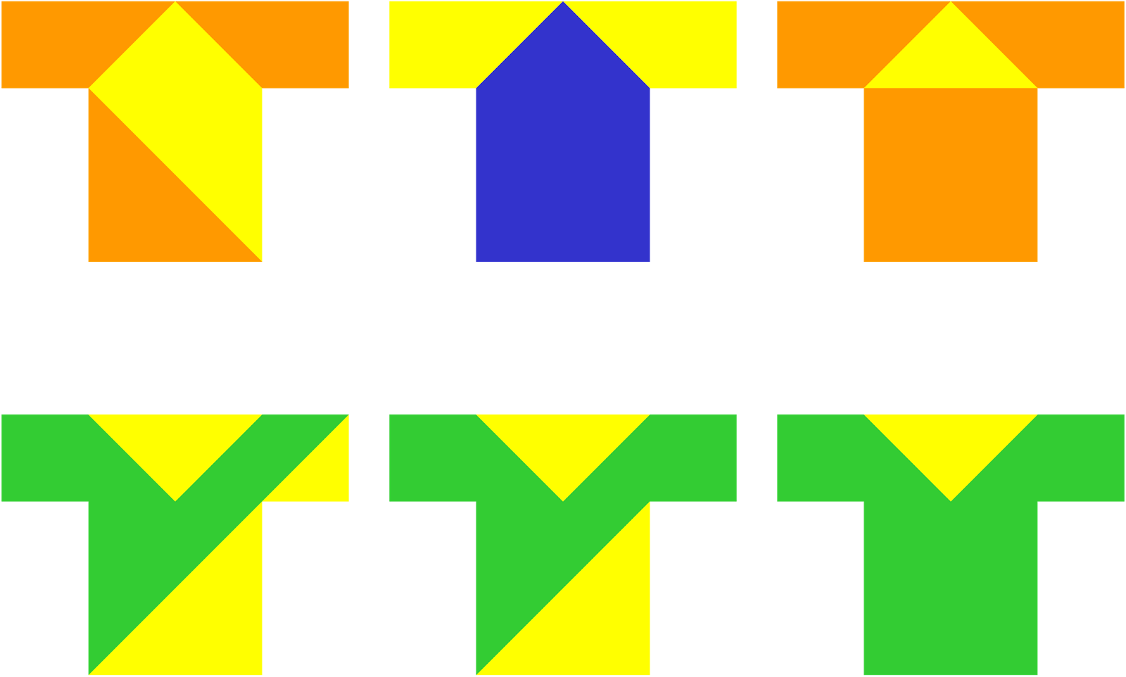 Colorful Tangrams About Me