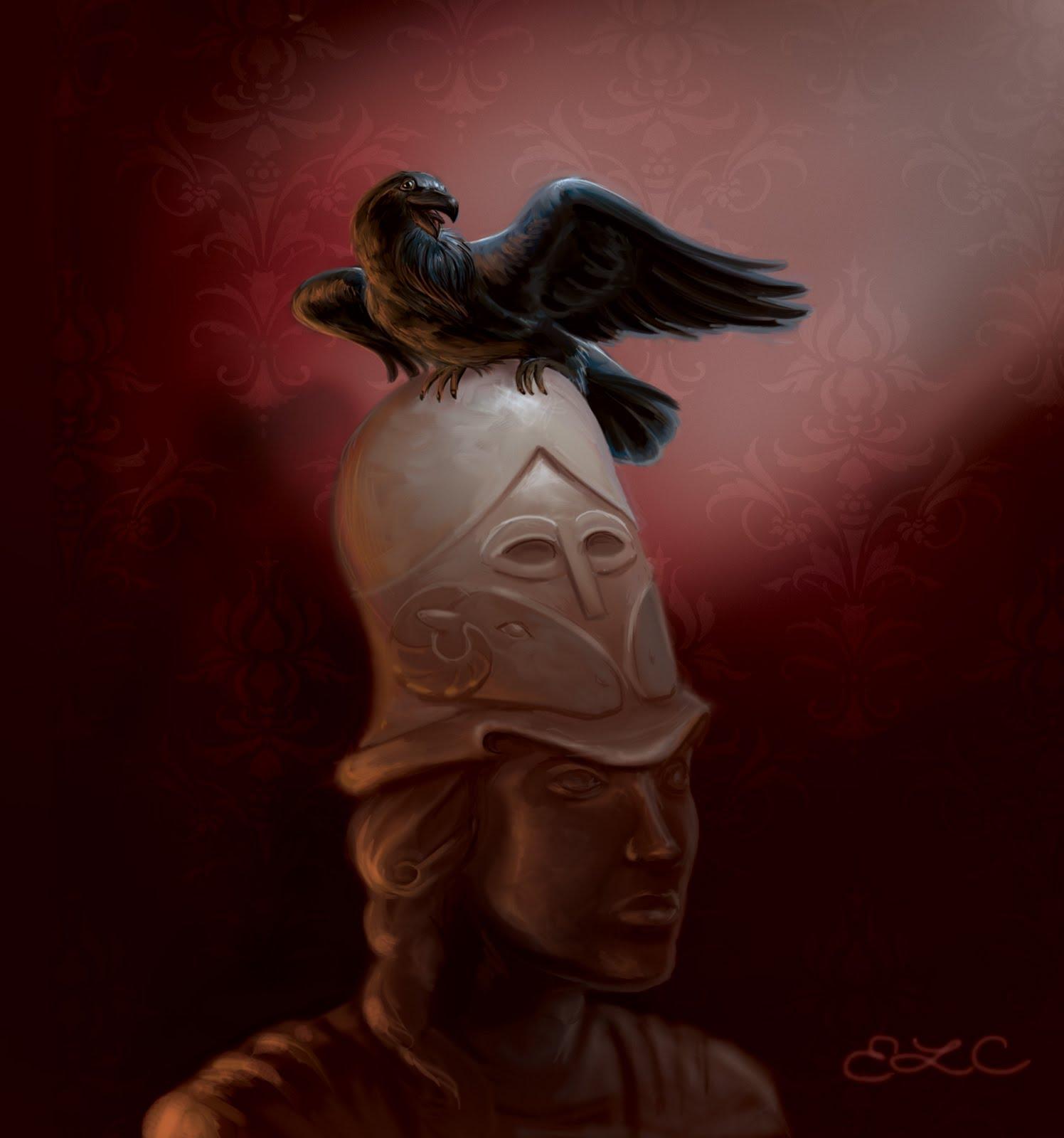 "Emily Crowley, Illustrator: Edgar Allan Poe's ""The Raven"""