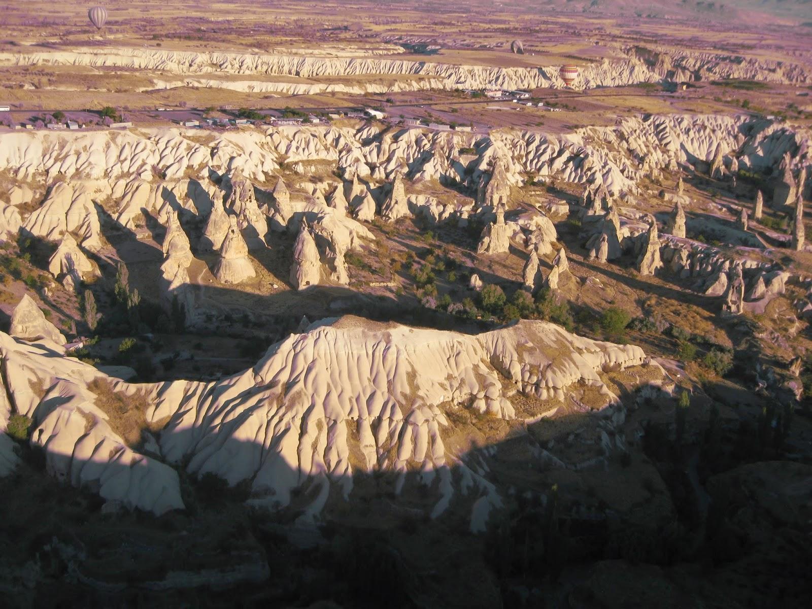 Cappadocia - Viewing rock formations