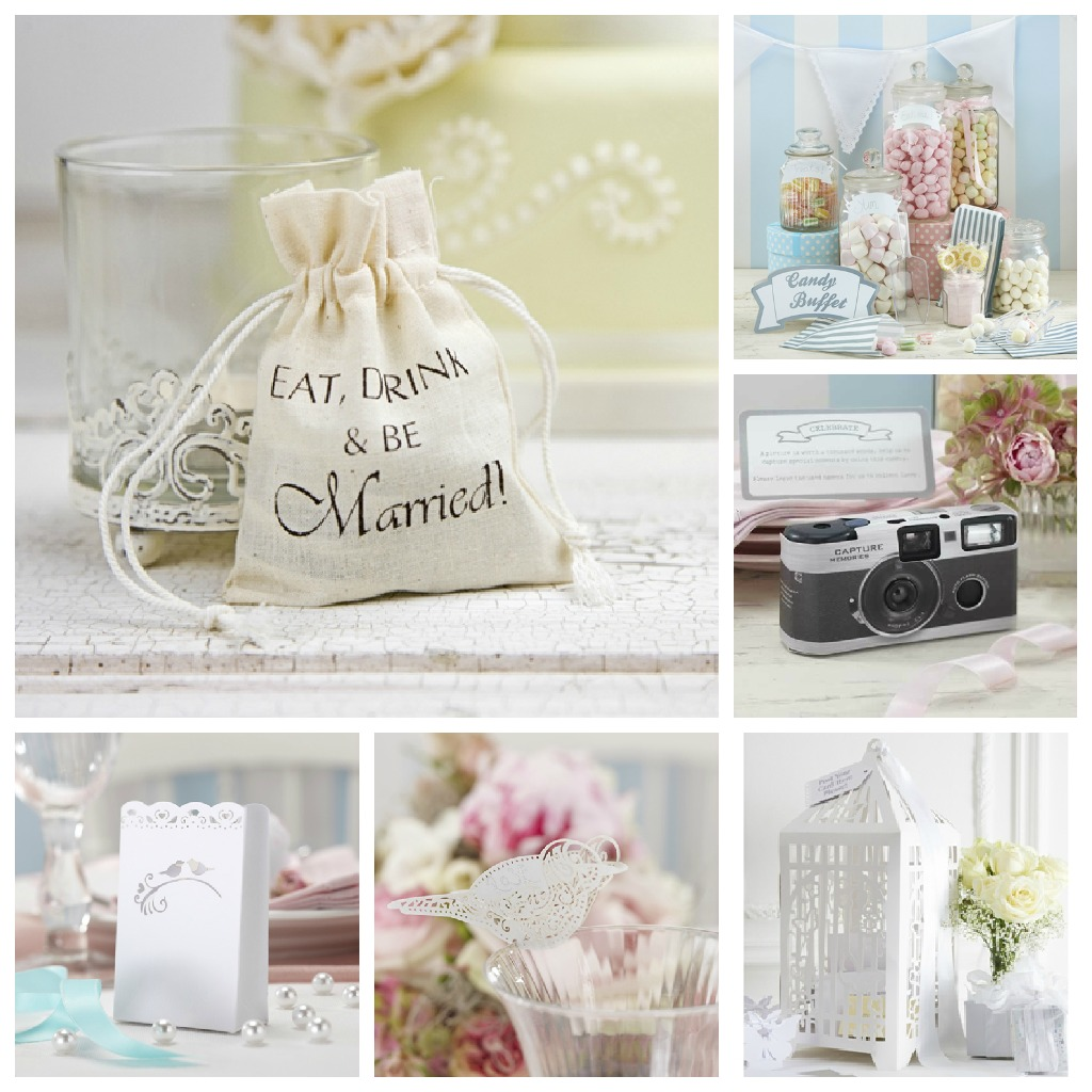 Vintage Wedding Favours And Reception Details From A Less Ordinary