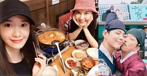 Phim Sao Hàn 30/9: Kim So Hyun mặt mộc kém tươi, Bo Gum được thơm má sướng rơn-2016