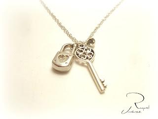 candado y llave del amor