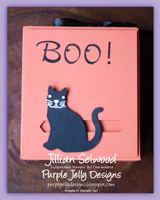 Halloween Treat Box, Stampin' Up! Autumn Winter Catalogue 2017