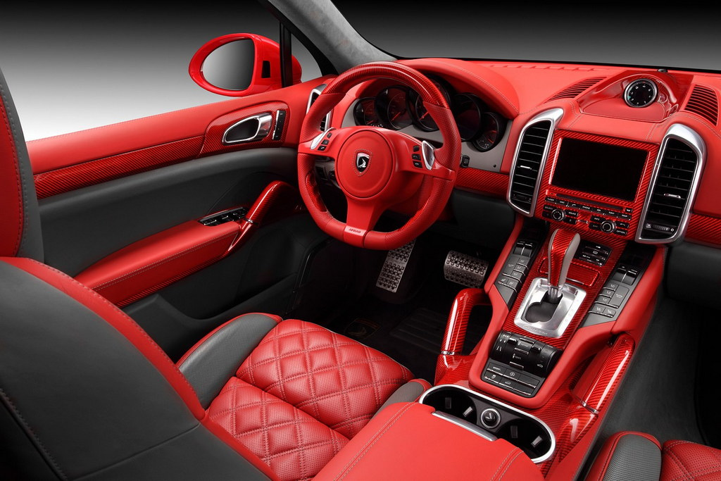 Horrific Porsche Cayenne Red Dragon Edition By Topcar