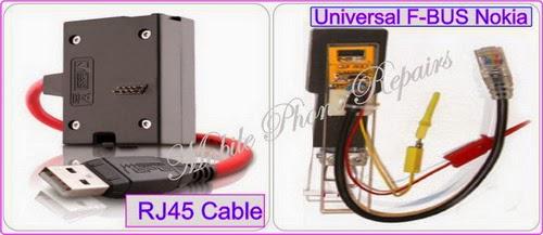 Persamaan Kabel F-BUS Nokia dan cara menentukan pinout di nokia