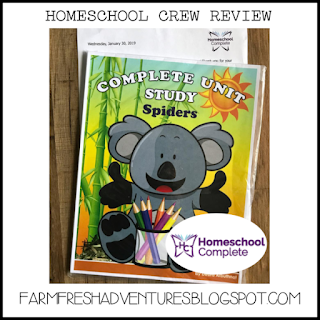 HOMESCHOOL COMPLETE UNIT STUDIES {A REVIEW}