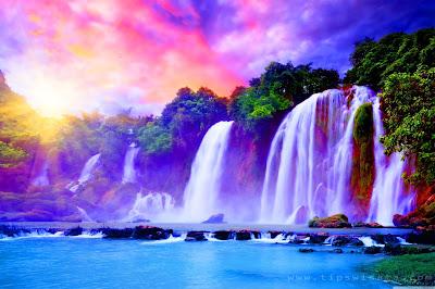 Ini Dia Foto-Foto Pemandangan Air Terjun Terindah