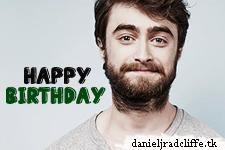 Happy Birthday Daniel Radcliffe! (26!)