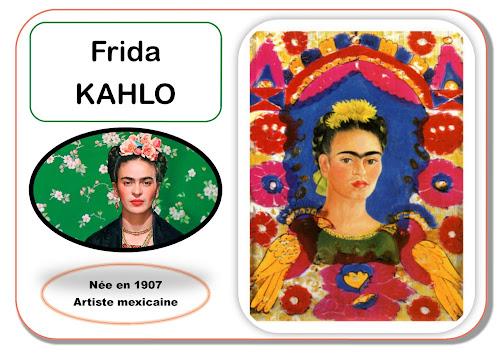 Frida Kahlo - Portrait d'artiste en maternelle