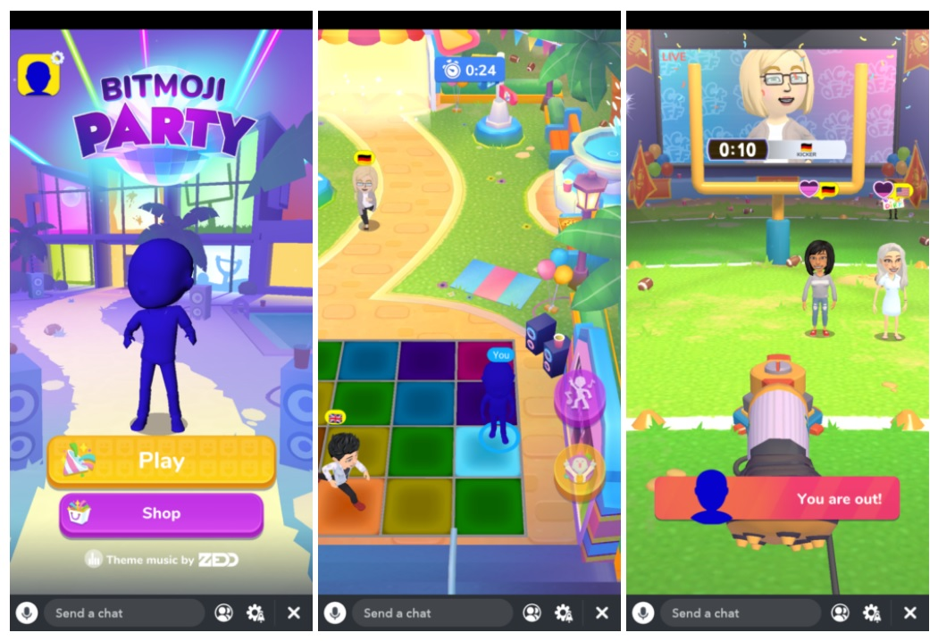 The next level of social media: Snapchat rolls out three Snap Games in a bid to give Facebook tough time