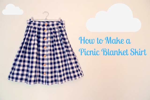 Tilly And The Buttons Picnic Blanket Skirt Classy Picnic Blanket Pattern