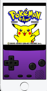 pokemon on GBA4iOS iOS emulator