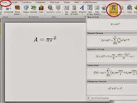 Cara mudah menulis rumus matematika di power point 2010