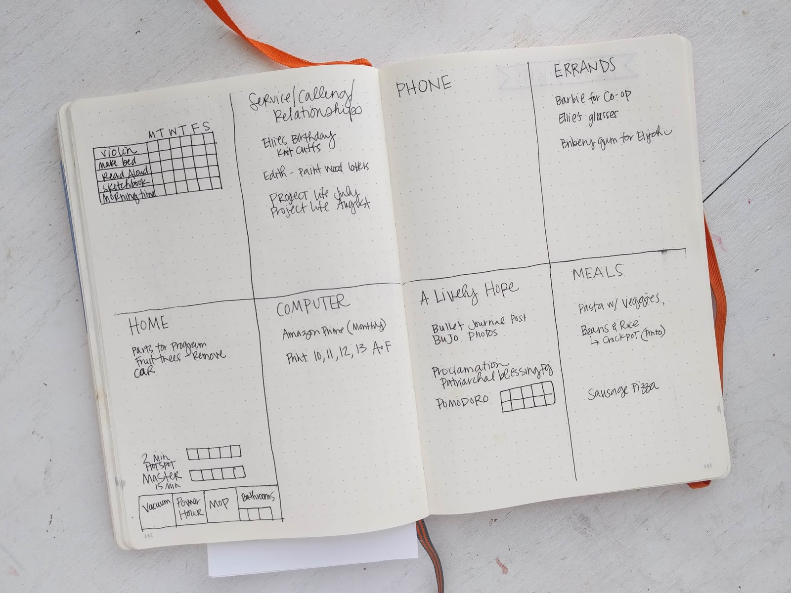 A Lively Hope: Super Simple Bullet Journal Ideas for Busy Moms